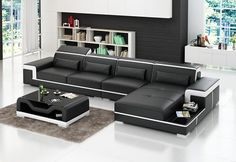 Tasso Italian Leather Sectional