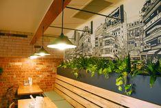 Hanoi Hannah New Quarter Restaurant - Custom Wall Light