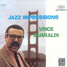 Vince Guaraldi in front of the Golden Gate Bridge (1964) Guaraldi was born in San Francisco's North Beach; he graduated from Lincoln High School, attended San Francisco State University, and served as an Army cook in the Korean War before becoming a successful jazz pianist, noted for his appearances in San Francisco jazz clubs like the Blackhawk and for his compositions in Charles Schultz's Peanuts animations.