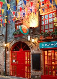 Isaac's Hostel in Dublin, Ireland. This is #1 on my list of where to stay when I go.