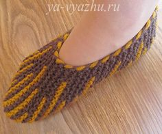 Şiş Örgü Kolay Patik Yapımı 13 Knitted Slippers, Slipper Socks, Knitted Poncho, Knit Shoes, Crochet Baby Shoes, Sock Shoes, Crotchet Patterns, Stitch Patterns, Knitting Patterns