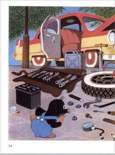 #krtek #molletje #illustration #mole #miler
