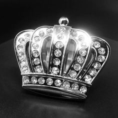 Brand new Bling Crown Emblem!