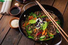 Znalezione obrazy dla zapytania buckwheat noodles