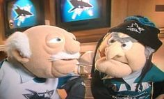 Who knew the Muppets were Shark fans!
