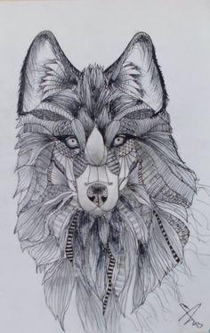Wolf by András Szurma