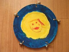 Preschool Crafts for Kids*: Paper Plate Tambourine Music Craft