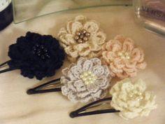 大人もできる花のヘアピン1 #39の作り方|その他|ファッション小物|アトリエ|手芸レシピ16,000件!みんなで作る手芸やハンドメイド作品、雑貨の作り方ポータル