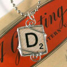 Scrabble Letter D Pendant
