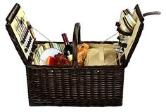 Surrey Picnic Basket for 2