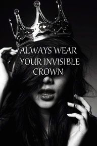 Don't put your crown on the ground