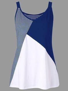 Hanes Men's 1901 Garment Dyed Tank Top – Gesunden Abendessen und rezepte Cheap Tank Tops, V Neck Tank Top, Blouse And Skirt, Striped Tank Top, Plus Size Tops, Clothing Patterns, Blouse Designs, Plus Size Fashion, Marie