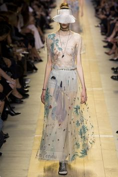Défilé Christian Dior Printemps-été 2017 58