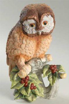 SadekOwl Porcelain Figurine