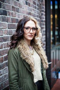 Shaughnessy Keely #TheLook #Glasses #DerekCardigan