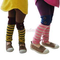 Girls Pink Yellow Trousers Casual Slim Skinny Toddlers Leggings Kids 2 7 Years | eBay