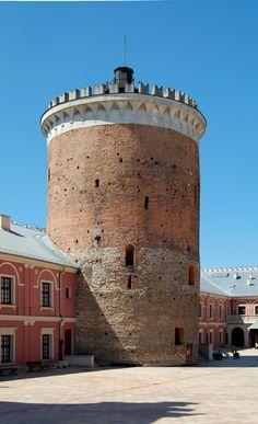 XIII-wieczny donżon na Zamku w Lublinie.