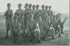 Madras Native Infantry from 1897 Modern World History, University Of Virginia, Indian Army, Swords, Colonial, Nativity, Weapons, Armour, Empire
