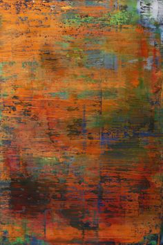 """Koen Lybaert; Oil 2013 Painting """"abstract N° 781"""""""