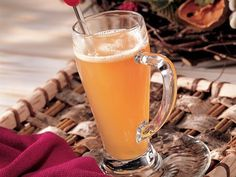 Buttered Rum-Spiced Cider recipe. #drinks