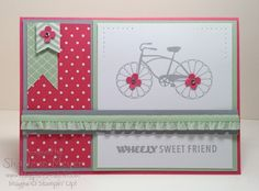 April Stamp of the Month Club project www.magpiecreates.com SOMC_Cycle_magpiecreates