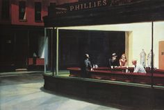 Nighthawks Edward Hopper Fine Art Print Poster