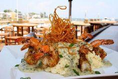 Grits a YaYa (Shrimp and Gouda Grits) at The Fish House in Pensacola, FL.