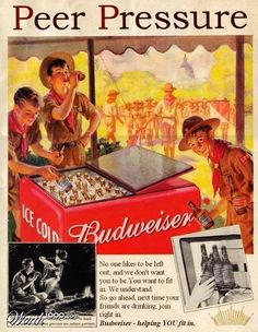 Boy Scouts and Budweiser!