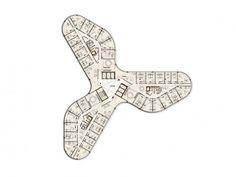 Architecture Plan, Interior Architecture, Luxury Homes Dream Houses, Apartment Layout, Concept Diagram, Plan Design, Autocad, House Floor Plans, House Design