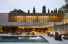 concrete and wood architecture - Google Search