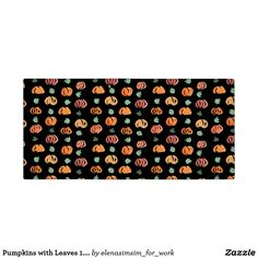 Pumpkins with Leaves 1.5'' Binder