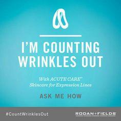 Be a #WrinkleWarrior!  erinmurray.myrandf.com