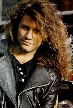 Jon Bon Jovi, back in time and he was such a hottie!!!!!