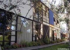 Charles and Ray Eames home.