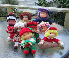 Strawberry Jam Crochet Doll from Cupcake Corner by MagicAvenue