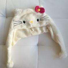 Hello Kitty beanie Furry Accessories Hats