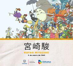 Hayao Miyazaki, director y fundador de Studio Ghibli, cumple hoy 76 años. Nació el 5 de enero de 1941.   #Efemérides #AmaneceParaTodos #UnDato #Miyazaki #Animación