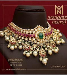 Antique Jewelry Box - How to Find Affordable Antique Jewelry Boxes For Your Jewelry Collection? Silver Jewellery Indian, Gold Jewellery, Handmade Jewellery, Rajputi Jewellery, Metal Clay Jewelry, Jewelry Model, Emerald Jewelry, Schmuck Design, Necklace Designs