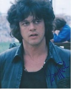 Gregg Rolie at Woodstock picture autograped
