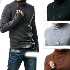 Too cool sweaters Cotton AND Cashmere. We love quality at Trade Guy. You have to have this.