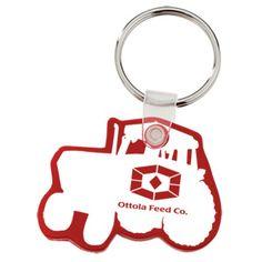 These custom key tags make it ok to give away the farm!