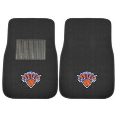 New York Knicks 2 Piece Embroidered Car Auto Floor Mats