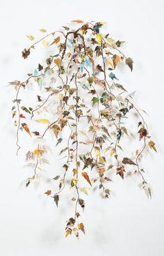 Creative embroidery art by Lisa Kokin - Mallow