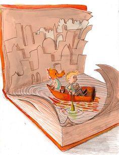 #Leer expande la #imaginación y te hace soñar despiert@. Puedes ser un protagonista o un testigo