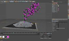 Creating animate trees using MoSpline in Cinema 4D - Understanding L-Systems With MoSpline Turtle Mode in C4D