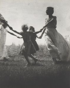 "Jacket cover, ""Mother and Child"" c1940 (Nell Dorr) black and white #photography"