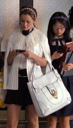 So cute in her Marc Jacobs uniform :) Blair Waldorf