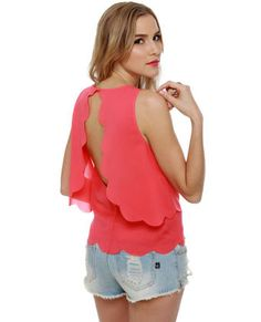 be my rose buddy coral top