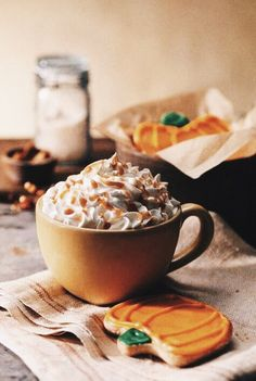 coffee and chocolate on autumn day - Google Search