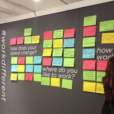 Our idea wall is getting really interesting - come share how you #workdifferent #neoconography #neocon13
